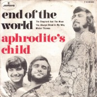 Aphrodite's Child ( Дитя Афродиты) обложки альбомов. 1968 - The End Of The World