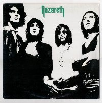 Nazareth  (Назарет) обложки альбомов  1971 - Nazareth