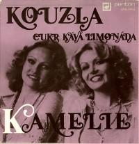 KAMELIE (Hana & Dana) обложки альбомов  1981 Kamelie - Kouzla (singl)