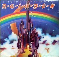 группа Rainbow (Радуга) обложки альбомов  Ritchie Blackmore's Rainbow (1975)
