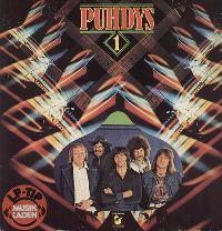 Puhdys (Пудис) обложки аоьбомов Puhdys 1 - 1974