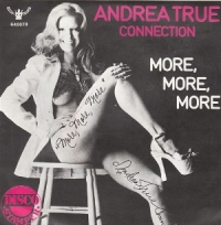 The Andrea True Connection обложки альбомов  1976 - More, More, More